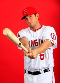 TEMPE, AZ - FEBRUARY 26: David Freese #6 poses during Los Angeles Angels photo day on February 26, 2014 in Tempe, Arizona. (Photo by Jamie Squire/Getty Images)
