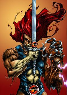 Lion for Brasilian Thundercats Expo Arte by Adriano Batista Collor  by Matthew Seel
