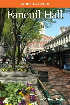 Where else can you shop the latest fashions, enjoy a delicious lunch and visit historical landmarks all in one location? Discover Boston's Faneuil Hall Marketplace! #OldTownTrolley