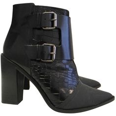 From China Low Shipping Fee Pre-owned - Leather ankle boots Tibi Official Cheap Price bzDC0cSR