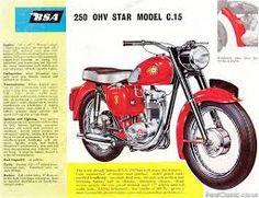 BSA C15 250