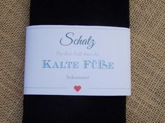 Bräutigam - Hochzeitssocken Bräutigam - schwarz / Socken - ein Designerstück von SignCity bei DaWanda
