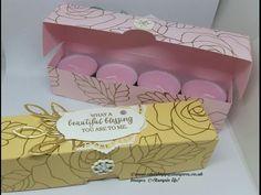(11) Rose Wonder Gift Box For 8 Tealights - YouTube