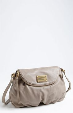MARC BY MARC JACOBS Classic Q - Natasha Crossbody Flap Bag, Medium available at #Nordstrom