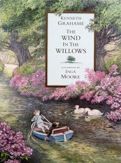 I was lucky one day at the second hand store and found a gorgeous copy of The Wind in the Willows by Kenneth Grahame. This particular book has amazing illustrations by Inga Moore. Kenneth Grahame, Books To Read, My Books, Reading Books, And So It Begins, Children's Book Illustration, Book Illustrations, Children's Literature, Book Authors