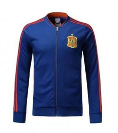 2018 World Cup Spain Replica Navy Football Jacket 2018 World Cup Spain  Replica Navy Football Jacket  03978ea8d