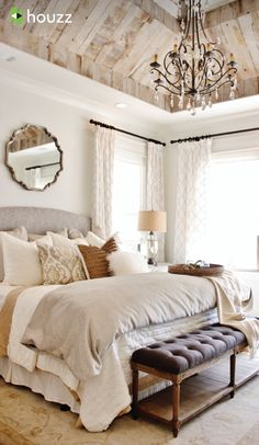 Bedroom Decorating Ideas | Pinterest | Bedrooms, Ceiling and Master ...