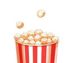 Birdie Popcorn - © pixiv member ID: 1096811 http://chai.wa-sanbon.com/top.html Artist @ twitter: drawingchisanne