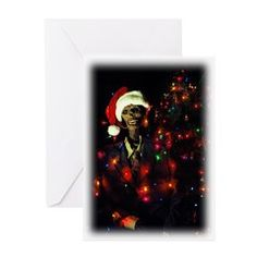 Spirit of Christmas Past Greeting Cards