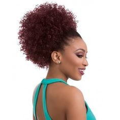 Sensational Style In Seconds Can Be Yours Thanks To The Sensationnel Instant Pony Drawstring Ponytail – Natural Afro Available Now At Divatress. Afro Ponytail, Ponytail Styles, Curly Hair Styles, Natural Hair Styles, Afro Hair, Natural Updo, 4c Hair, My Hairstyle, Ponytail Hairstyles