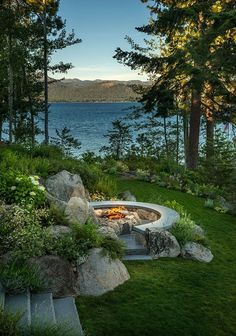 Rocky Point South, Lake Tahoe - perfect rustic cabin view