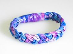 Braided duct tape bracelet my lil sis would love this!!!
