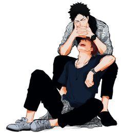 (Yaoi) - Iwaizumi Hajime X Oikawa Tooru - [IwaOi] Kageyama Tobio, Kagehina, Oikawa X Iwaizumi, Iwaoi, Hinata, Haikyuu Manga, Manga Anime, Haikyuu Dj, Anime Boys