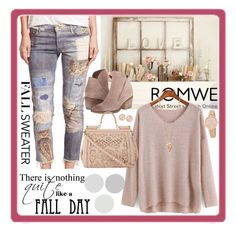 """fall sweater"" by nata91 ❤ liked on Polyvore featuring мода, Mother, Dolce Vita, Pamela Love, Kate Spade, Saachi, Dolce&Gabbana и denim"