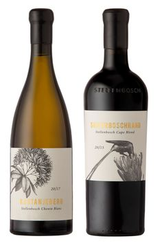 A range of limited-edition wines that promise rare insight into some of South Africa's finest terroir in Stellenbosch has been unveiled. Named Sense of Place, the portfolio showcases the diversity of Wine Bottle Design, Wine Label Design, Wine Bottle Labels, Beer Labels, Wine Bottles, Food Packaging Design, Bottle Packaging, Coffee Packaging, Custom Wine Labels