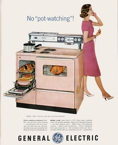 Bring the pink stove back. Please. Or baby blue? Pale yellow? Oh, and make 'em affordable. Thanks.