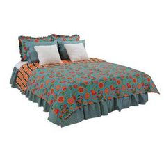New Royston Cotton 8 Piece Reversible Quilt Set by Harriet Bee Bedding Furniture. Fashion is a popular style Waverly Bedding, Quilt Bedding, Ruffle Pillow, Amity Home, Chevron Quilt, Contemporary Quilts, Queen Quilt, Cotton Sheet Sets, Quilt Sets