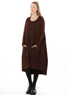 Kleid von RUNDHOLZ BLACK LABEL bei nobananas mode #nobananas #dress #lava #cotton #rundholzblacklabel #fw16