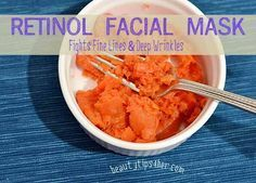 Anti-Aging Tips: Retinol fights fine lines and deep wrinkles. Whether youre looking to prevent future signs of aging or hoping to appear years younger, heres a homemade Retinol face mask to suit your needs. Anti Aging Tips, Best Anti Aging, Anti Aging Skin Care, Natural Skin Care, Natural Beauty, Natural Face, Organic Beauty, Masque Anti Ride, Carrot Mask