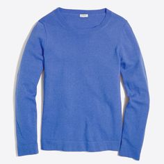 J.Crew - Cotton-wool Teddie sweater: Chrome Green, Black, Hthr vintage blue, Sundried linen: size Small