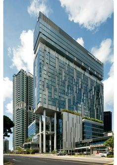 Different  shaped  buildings  .... #design #architecture #glass #building #construction #vision