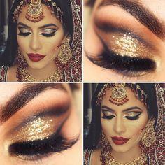 Pra quem curte uma inspiração indiana! A make completa é da @dressyourface e a close é minha! Tem no www.youtube.com/pausparafeminices como maquiagem de Natal (olha só como eu encontro o papai noel básica  #sqn) Make Up Art, How To Make Hair, Face Charts, Indian Makeup, Indian Beauty, Ballet Makeup, Bollywood Hairstyles, Arabian Makeup, Bollywood Makeup