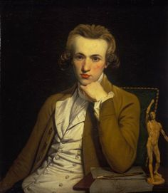 Portrait of an Artist c.1775, possibly a Self-Portrait William Doughty (1757-1782)