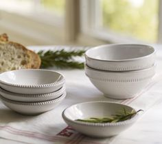 Gabriella Snack Bowls | Pottery Barn