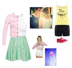 """""""Violetta 3"""" by martinodegaardfan ❤ liked on Polyvore featuring Oh My Love, H&M, ONLY, Chloé, even&odd, women's clothing, women, female, woman and misses"""