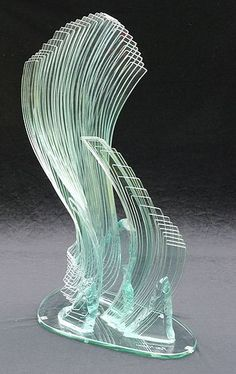 "*Art Glass - ""Wind Song"" by Peter Newsome"