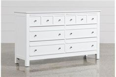Winslow White 2 Drawer Amp Open Cubbie Nightstand