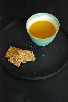 pompoensoep met amandelmelk