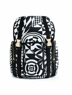 Versace Versus Op Art Backpack