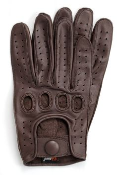 Riparo Leather Reverse Stitched Driving Gloves