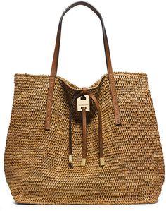 37e7eb1f3502 Michael Kors Miranda Large Novelty Tote Bag