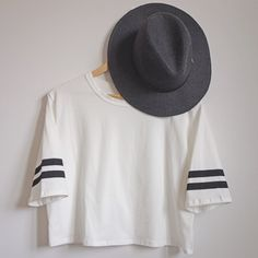 We just added these items to our sale section on the site - Get our Buckle Fedora Hat $19.95 (reg $30) + Striped Out Baseball Tee $13.95 (reg $18.95) before it's too late!
