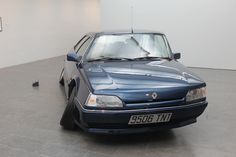 "Erwin Wurm [Austria] (b 1954) ~ ""Renault 25-1991"", 2008. Mixed media (135 x 475 x 204 cm)"
