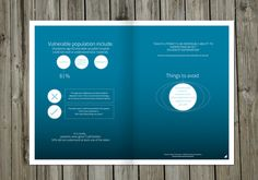 UX ehealth Update Magazine by Juan Cantero, via Behance