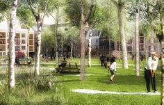 Stockholm-based Kjellander + Sjöberg Architects (K+S) has won first prize in a…