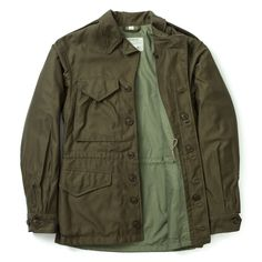 """<p class=""""p1""""><span class=""""s1"""">The M-43 field jacket was a replacement of the M-1941 used in WWII. The M-43 was a revolutionary jacket featuring a removable pile liner, making field jacket versatile in both warm and cold weathers.</span></p>"""