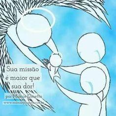Mãe de anjo: sua missão é maior que sua dor!