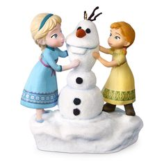 Disney Frozen Anna and Elsa Build a Snowman Musical Ornament - Keepsake Ornaments - Hallmark Frozen Christmas, Hallmark Christmas Ornaments, Baby First Christmas Ornament, Disney Ornaments, Hallmark Keepsake Ornaments, A Christmas Story, Snowman Ornaments, Black Christmas, Frozen Snowman