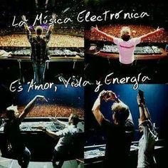 La musica electronica es amor No como la musica para SHUMOS!!