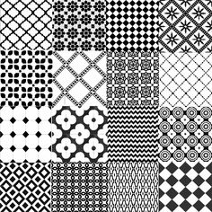Patterned tiles from Casa Tiles