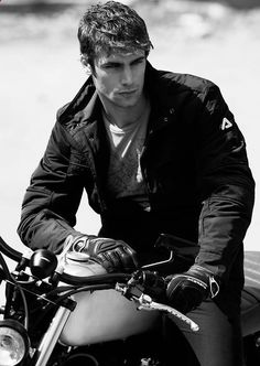 Mario Ermito / Male Models Black  White Photograph: Good thing were open late tonight dont want anyone to be turned away
