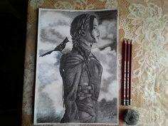 The hunger games: Mockingjay part 2 Drawing of Katniss Everdeen