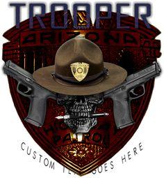 Arizona State Trooper Shirt $19.95