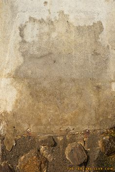 Concrete and stone wall texture