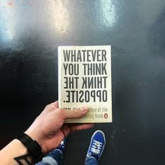 #thinkdifferent #holding365 via @holding365