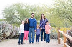Cactus Garden Family Photo Session. Family photographed at Riparian Preserve and Water Ranch in Gilbert, AZ.